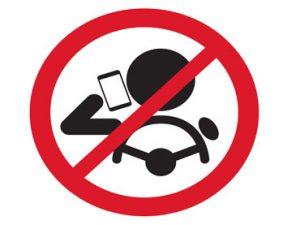 Logo no celular al conducir