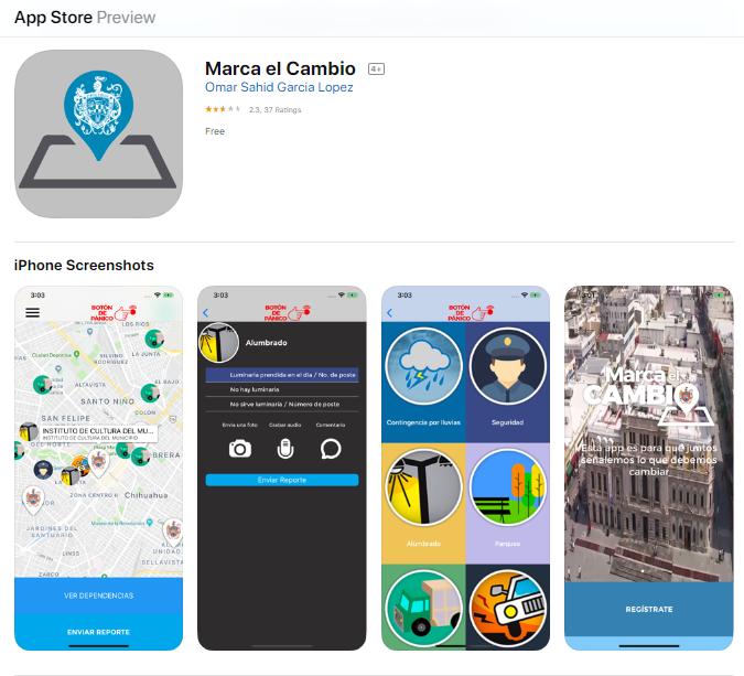 https://apps.apple.com/mx/app/marca-el-cambio/id1189333840?l=en
